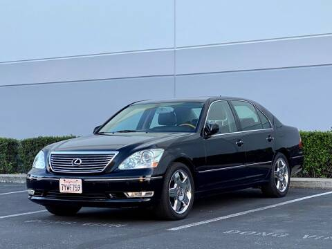 2005 Lexus LS 430 for sale at Carfornia in San Jose CA