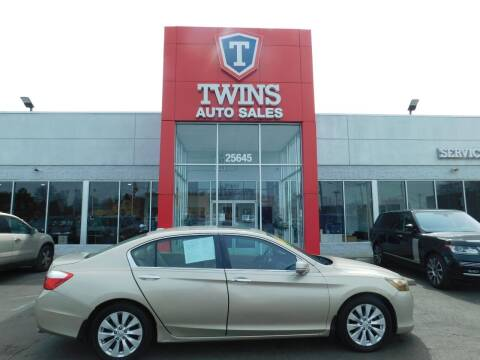 2014 Honda Accord for sale at Twins Auto Sales Inc in Detroit MI