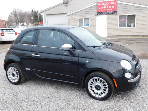 2012 FIAT 500 for sale at Macrocar Sales Inc in Akron OH