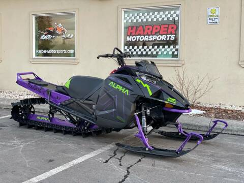 2019 Arctic Cat Alpha One M8000 for sale at Harper Motorsports-Powersports in Post Falls ID