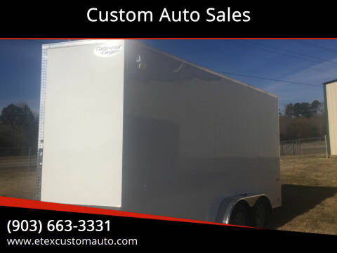 2021 Continental Cargo 7x16 Tandem Axle for sale at Custom Auto Sales - TRAILERS in Longview TX
