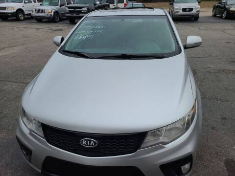 2011 Kia Forte Koup for sale at All State Auto Sales, INC in Kentwood MI