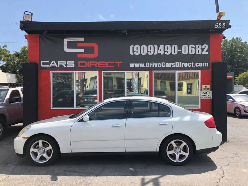 2003 Infiniti G35 for sale at Cars Direct in Ontario CA