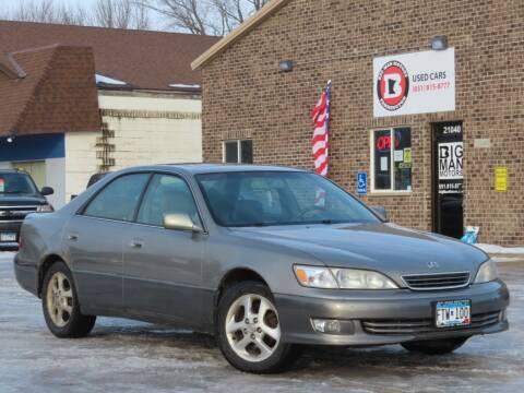 2000 Lexus ES 300 for sale at Big Man Motors in Farmington MN