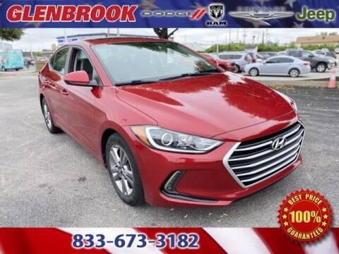 2018 Hyundai Elantra for sale at Glenbrook Dodge Chrysler Jeep Ram and Fiat in Fort Wayne IN