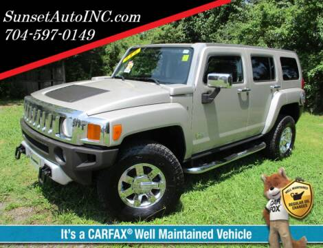 2008 HUMMER H3 for sale at Sunset Auto in Charlotte NC