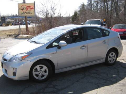 2010 Toyota Prius for sale at AUTO STOP INC. in Pelham NH