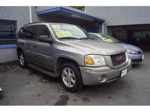 2003 GMC Envoy for sale at M & R Auto Sales INC. in North Plainfield NJ
