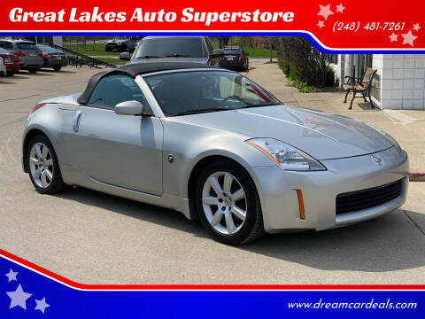 2005 Nissan 350Z for sale at Great Lakes Auto Superstore in Pontiac MI