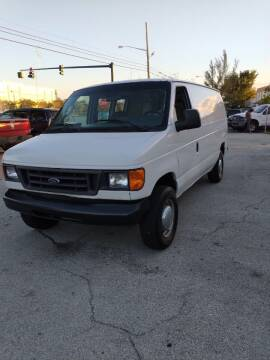 2006 Ford E-Series Cargo for sale at LAND & SEA BROKERS INC in Deerfield FL