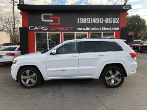 2014 Jeep Grand Cherokee for sale at Cars Direct in Ontario CA