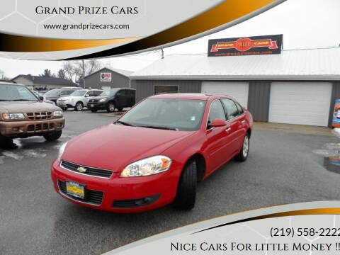2007 Chevrolet Impala for sale at Grand Prize Cars in Cedar Lake IN