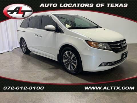 2014 Honda Odyssey for sale at AUTO LOCATORS OF TEXAS in Plano TX
