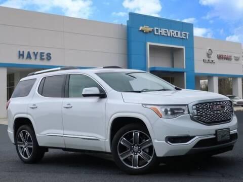 2019 GMC Acadia for sale at HAYES CHEVROLET Buick GMC Cadillac Inc in Alto GA