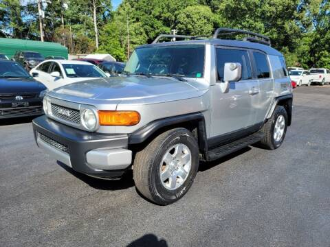 2007 Toyota FJ Cruiser for sale at GEORGIA AUTO DEALER, LLC in Buford GA