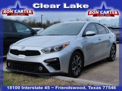 2019 Kia Forte for sale at Ron Carter  Clear Lake Used Cars in Houston TX