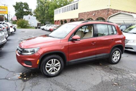 2016 Volkswagen Tiguan for sale at Absolute Auto Sales, Inc in Brockton MA