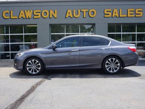 2014 Honda Accord for sale at Clawson Auto Sales in Clawson MI