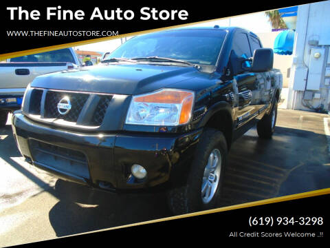 2011 Nissan Titan for sale at The Fine Auto Store in Imperial Beach CA