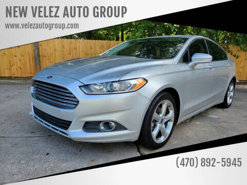 2014 Ford Fusion for sale at NEW VELEZ AUTO GROUP in Gainesville GA