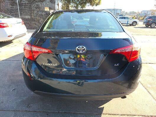 2017 Toyota Corolla LE 4dr Sedan - Belmont CA