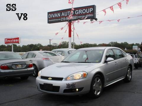2009 Chevrolet Impala for sale at Divan Auto Group in Feasterville PA