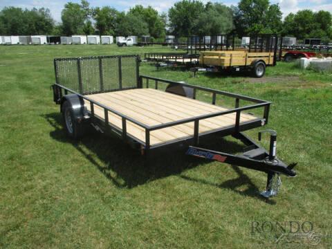 2021 Liberty Single Axle Utility LU3K78X12C for sale at Rondo Truck & Trailer in Sycamore IL