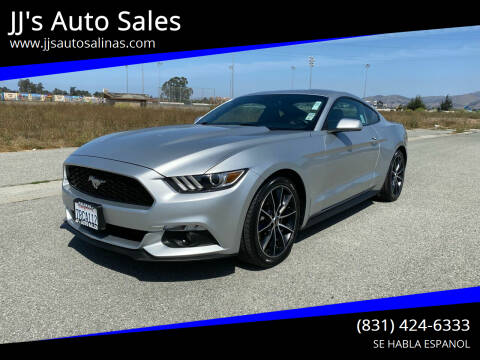 2016 Ford Mustang for sale at JJ's Auto Sales in Salinas CA