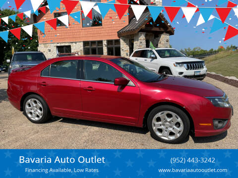 2010 Ford Fusion for sale at Bavaria Auto Outlet in Victoria MN