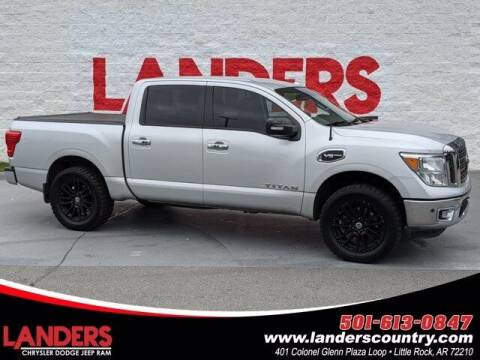 2017 Nissan Titan for sale at The Car Guy powered by Landers CDJR in Little Rock AR