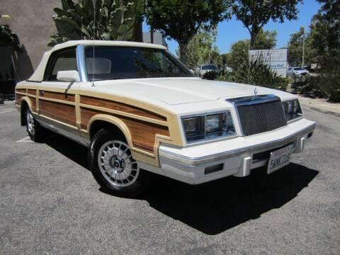 1983 Chrysler Le Baron for sale at ORANGE COUNTY AUTO WHOLESALE in Irvine CA