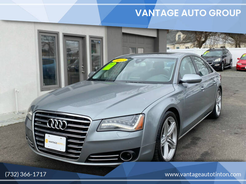 2013 Audi A8 for sale at Vantage Auto Group in Tinton Falls NJ