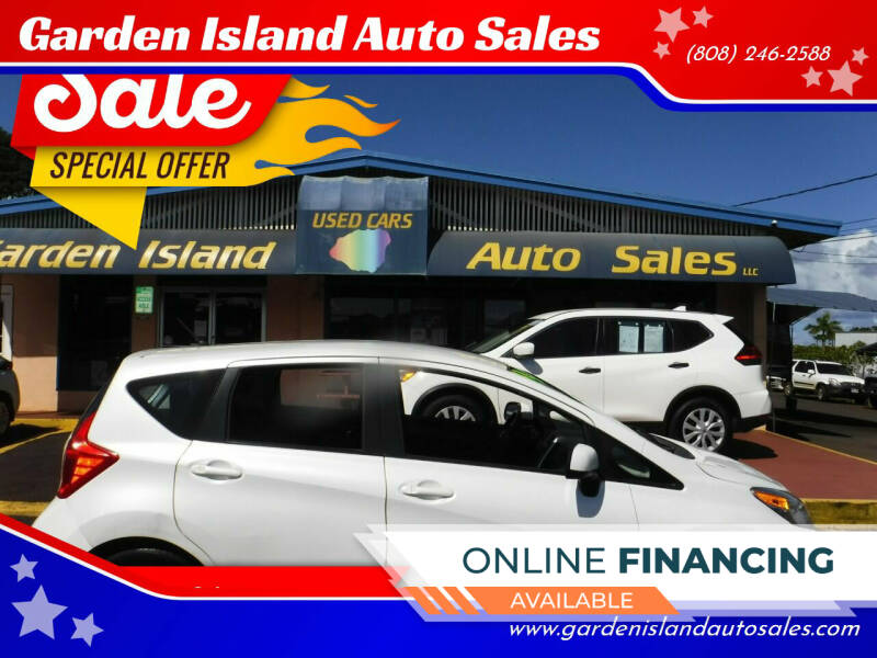 2014 Nissan Versa Note for sale at Garden Island Auto Sales in Lihue HI