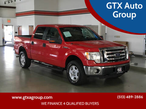 2010 Ford F-150 for sale at GTX Auto Group in West Chester OH