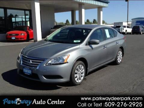2013 Nissan Sentra for sale at PARKWAY AUTO CENTER AND RV in Deer Park WA