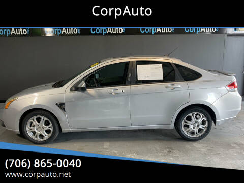 2008 Ford Focus for sale at CorpAuto in Cleveland GA