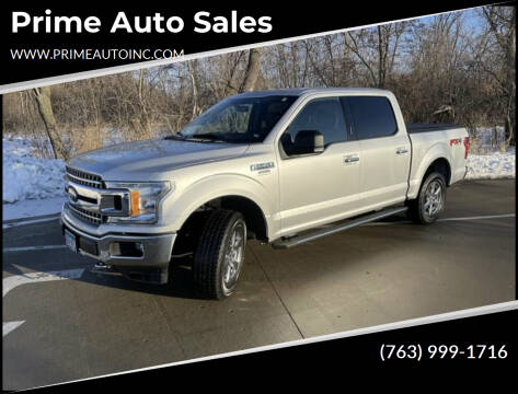 2018 Ford F-150 for sale at Prime Auto Sales in Rogers MN