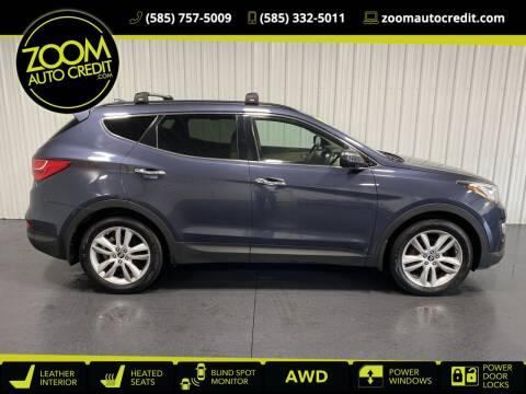 2014 Hyundai Santa Fe Sport for sale at ZoomAutoCredit.com in Elba NY