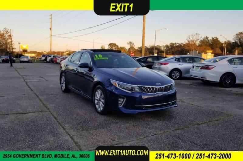 2018 Kia Optima for sale at Exit 1 Auto in Mobile AL