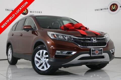 2015 Honda CR-V for sale at INDY'S UNLIMITED MOTORS - UNLIMITED MOTORS in Westfield IN