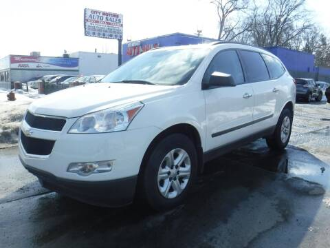 2012 Chevrolet Traverse for sale at City Motors Auto Sale LLC in Redford MI