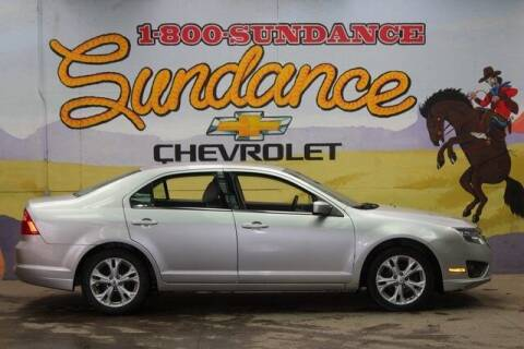 2012 Ford Fusion for sale at Sundance Chevrolet in Grand Ledge MI