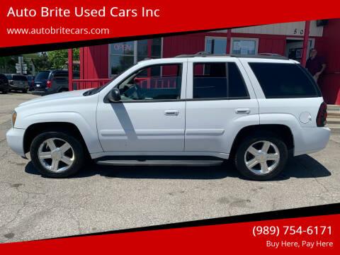 2008 Chevrolet TrailBlazer for sale at Auto Brite Used Cars Inc in Saginaw MI