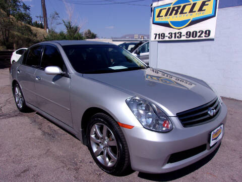 2005 Infiniti G35 for sale at Circle Auto Center in Colorado Springs CO