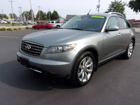 2007 Infiniti FX35 for sale at Ideal Auto Sales, Inc. in Waukesha WI