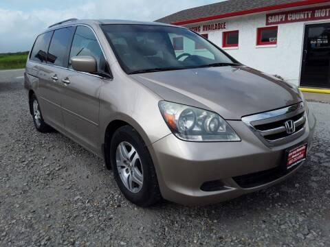 2006 Honda Odyssey for sale at Sarpy County Motors in Springfield NE