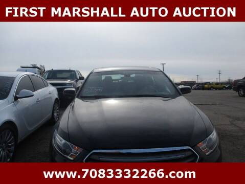 2015 Ford Taurus for sale at First Marshall Auto Auction in Harvey IL