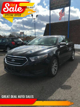2014 Ford Taurus for sale at GREAT DEAL AUTO SALES in Center Line MI