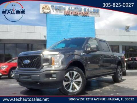 2020 Ford F-150 for sale at Tech Auto Sales in Hialeah FL