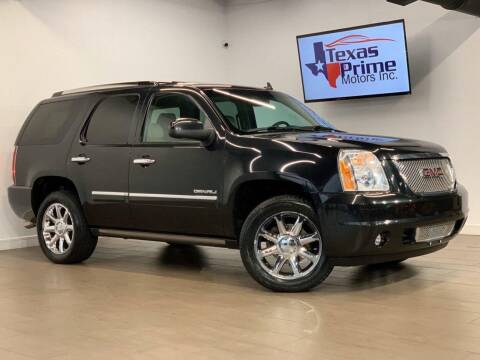 2012 GMC Yukon for sale at Texas Prime Motors in Houston TX